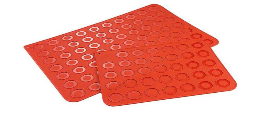 Stampi in silicone: Stampo macarones 60x40 70 gusci