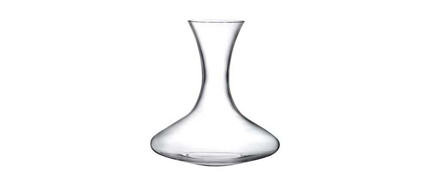 Decanter: Decanter castle vino soffiato gb1 l.1,25